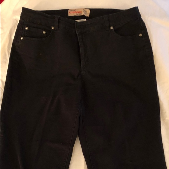 4035192bb9f JMS Black Denim Jean s